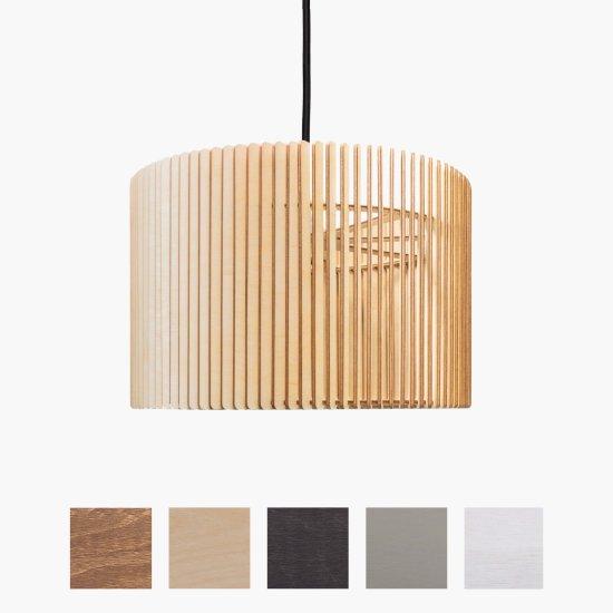 barril pendelleuchte aus holz 189 00. Black Bedroom Furniture Sets. Home Design Ideas