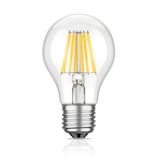E27 LED Lampe Filament - KLAR 4 Watt | 400 Lumen